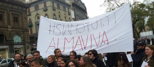 Almaviva, continua la protesta dei lavoratori: indetti due giorni ... - palermomania.it