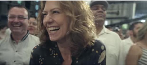 Bastidores da gravação da vinheta de final de ano da Rede Globo (foto: Reprodução)