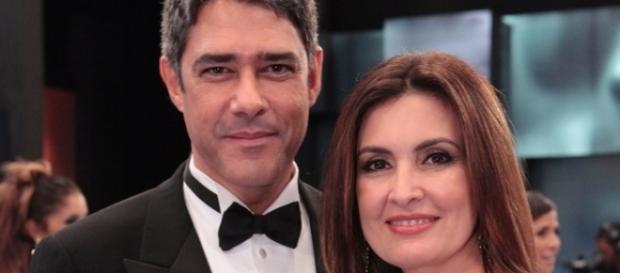 Bonner assitiu apresentação de dança de Fátima Bernardes (Foto: Reprodução)