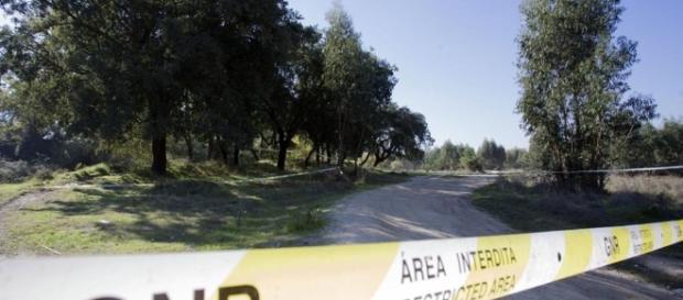 Foi em zona de mata, perto de um campo de futebol, que Bruno foi agredido até à morte.