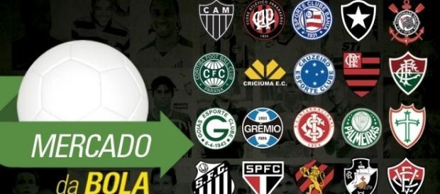 Futebol: Moreno no Cruzeiro e Conca no Flamengo