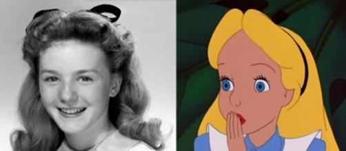 A atriz Kathryn Beaumont deu vida à Alice