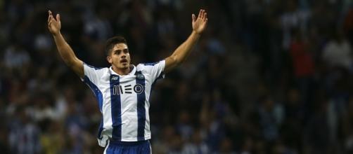 André Silva, jovem avançado promissor do FC Porto.