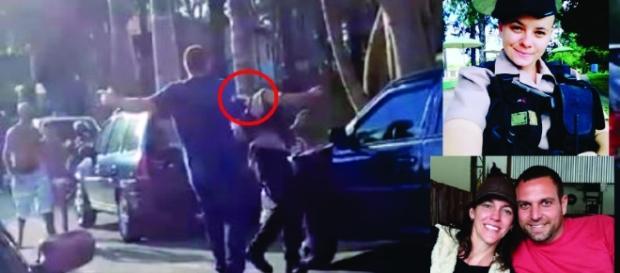 A agente de trânsito Edvânia Nayara, de 23 anos, foi espancada por um homem