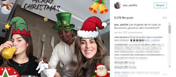 La felicitación de Navidad más controvertida de Paz Padilla - lecturas.com