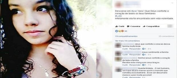 Menina de 13 anos é encontrada morta.