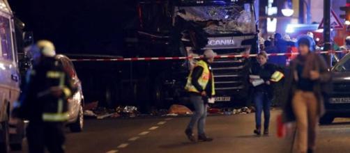 Atentado terrorista em Berlim, Alemanha.