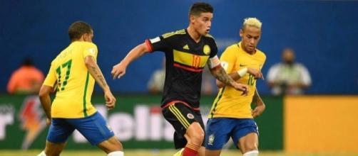 Brasil e Colômbia vão disputar amistoso