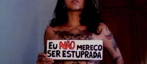 Eu não mereço ser estuprada, nem calada.