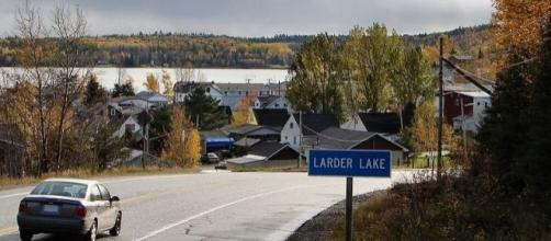 Larder Lake, Ontario, the site of former Armistice Resource operations / P199, Wikimedia Commons CC BY-SA 3.0