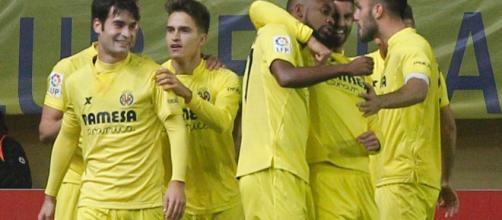 Les joueurs de Villarreal s'éclatent (via skysports.com)