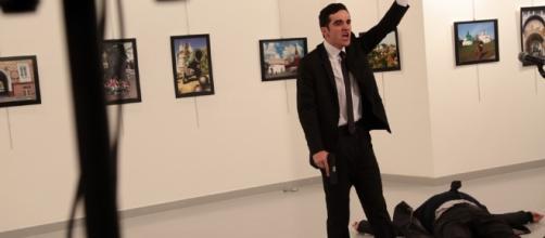 Photos: Russian Ambassador to Turkey Shot Dead in Ankara - WSJ - wsj.com