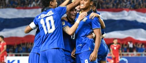 Thai hero Siroch Chatthong celebrates http://www.affsuzukicup.com/2016/index.html