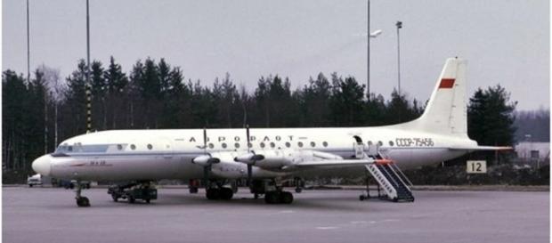All passengers of #Il18 plane crash have survived / Photo screencap via Sputnik Twitter