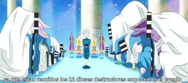 Aparición de los 12 dioses destructores