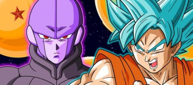 Dragon Ball super goku vs hit, capitulos 71,72 y 73