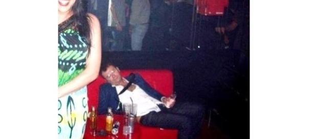 Jorge Javier en una discoteca.