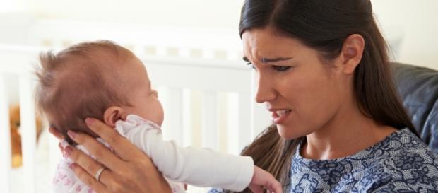 Mulheres podem ter depressão pós-parto