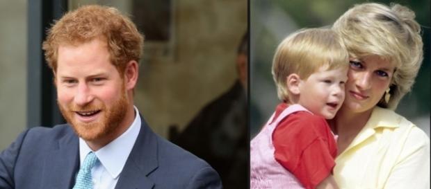 Príncipe Harry atua em trabalhos humanitários, assim como sua mãe.