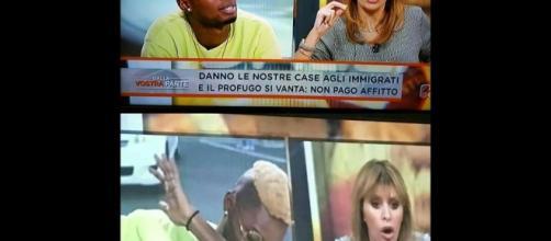 Bello Figo e Mussolini indignata, con tanto di titolo scandalistico