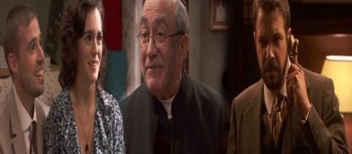 Il Segreto, trama puntata 1254: Don Anselmo celebrerà le nozze di Hipolito e Gracia, Eliseo ricatta Severo
