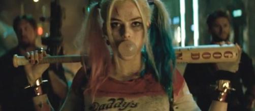 Margot Rbbie caracterizada en Escuadrón Suicida