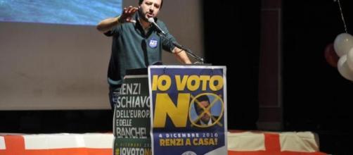 Matteo Salvini attacca Renzi sul voto estero