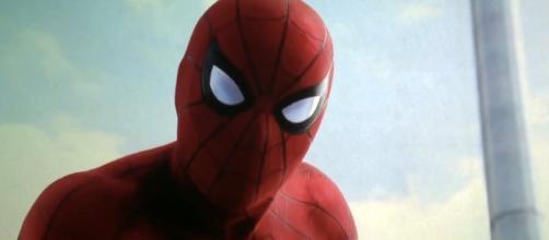 Spider-Man Homecoming Poster Shows Spidey Hanging Around - slashfilm.com