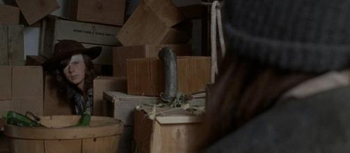 The Walking Dead : la réaction de Jesus concernant Carl et sa mission