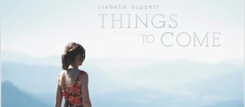 Theatrical poster 'Things To Come' with Isabelle Huppert (used by permission Sundance Selects/IFC Films)