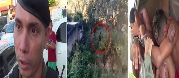 Bandidos que usavam drone para monitorar a policia são presos em Teresina.