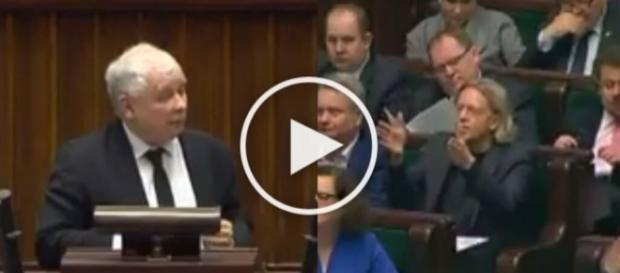 Kaczyński gasi posła Nowoczesnej.