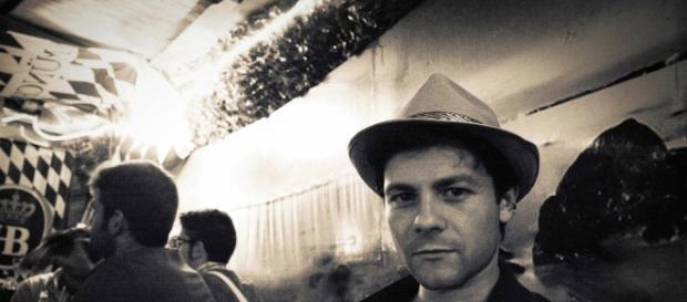 Lo scrittore Marco Parlato di stanza a Foligno