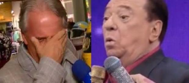 Otávio Mesquita e Raul Gil - Foto/Montagem
