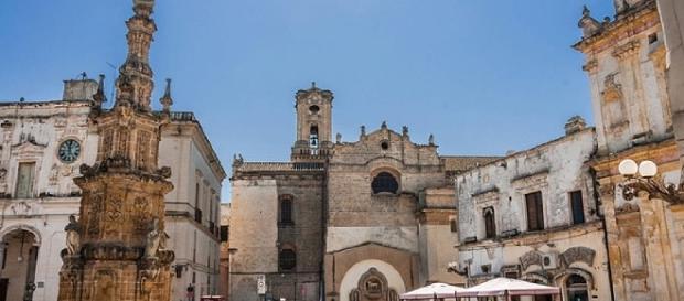 Piazza Salandra a Nardò, provincia di Lecce