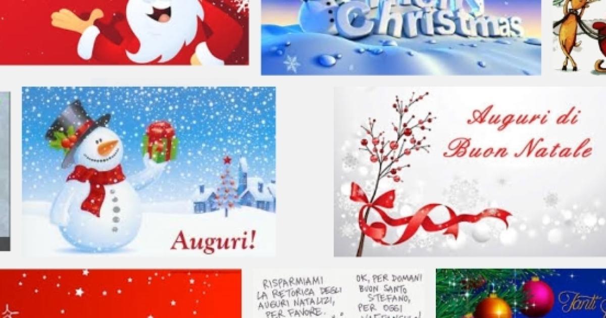 Auguri Di Natale 105.Auguri Di Buon Natale Un Modo Simpatico E Divertente