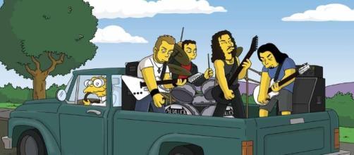 Cantantes famosos aparecidos en Los Simpsons