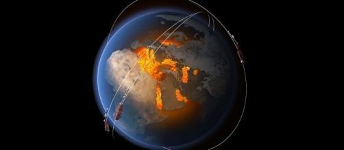 ll nucleo terrestre analizzato ai raggi X dai satelliti Swarm.
