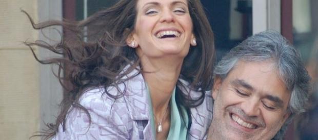 Andrea Bocelli, Veronica Berti [Photo via Angela George/Wikimedia Commons]