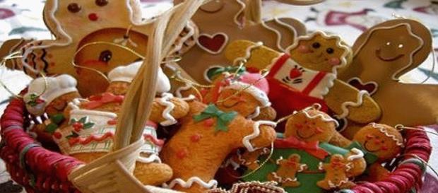 Dolci natalizi in Germania, biscotti allo zenzero.
