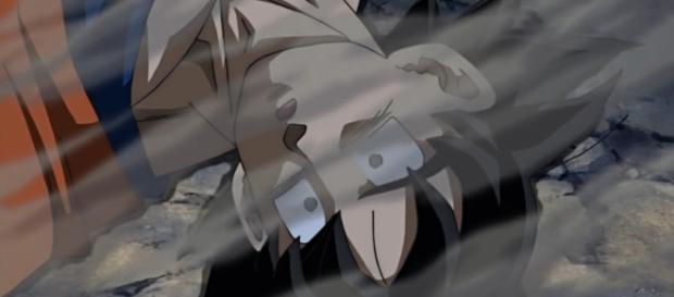 Goku muerto en el episodio 71 de la serie