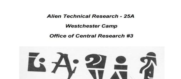 Manuscrito detalha fórmulas químicas para fabricar remédios usados pelos extraterrestres (auricmedia)