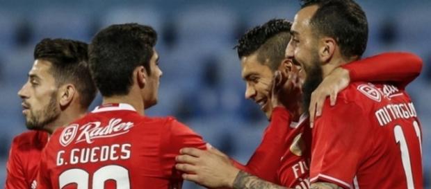 O Benfica é o atual líder do Campeonato português