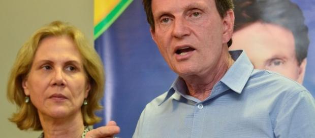 O prefeito eleito do Rio de Janeiro, Marcelo Crivella (PRB), em entrevista à Agência Brasil