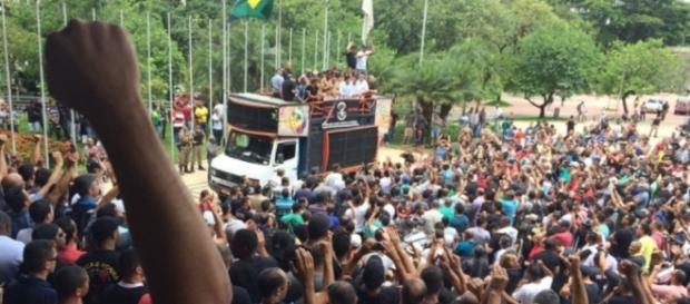 População teme que a PM entre em greve e comprometa a segurança de todos