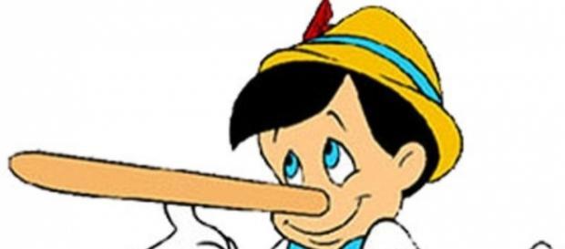 Quanto mais você mentir, mais seu nariz vai crescer