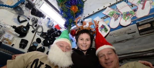 Station Astronauts Send Christmas Greetings from the International ... - universetoday.com