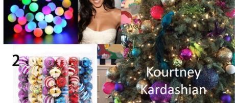 Kourtney Kardashian's Christmas trees - Photo: Blasting News Library - bestgiftidea.net