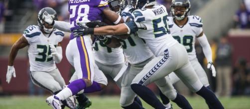 The Minnesota Vikings were blown out/Photo via seattletimes.com