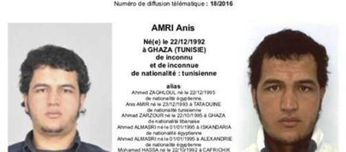 Il 24enne tunisino Anis Amri: l'attentatore di Berlino.